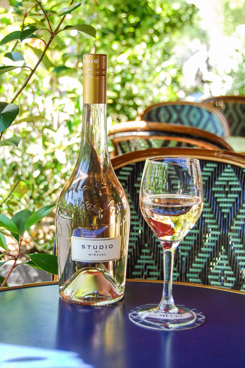 Vins rosés Demeure Monceau Paris