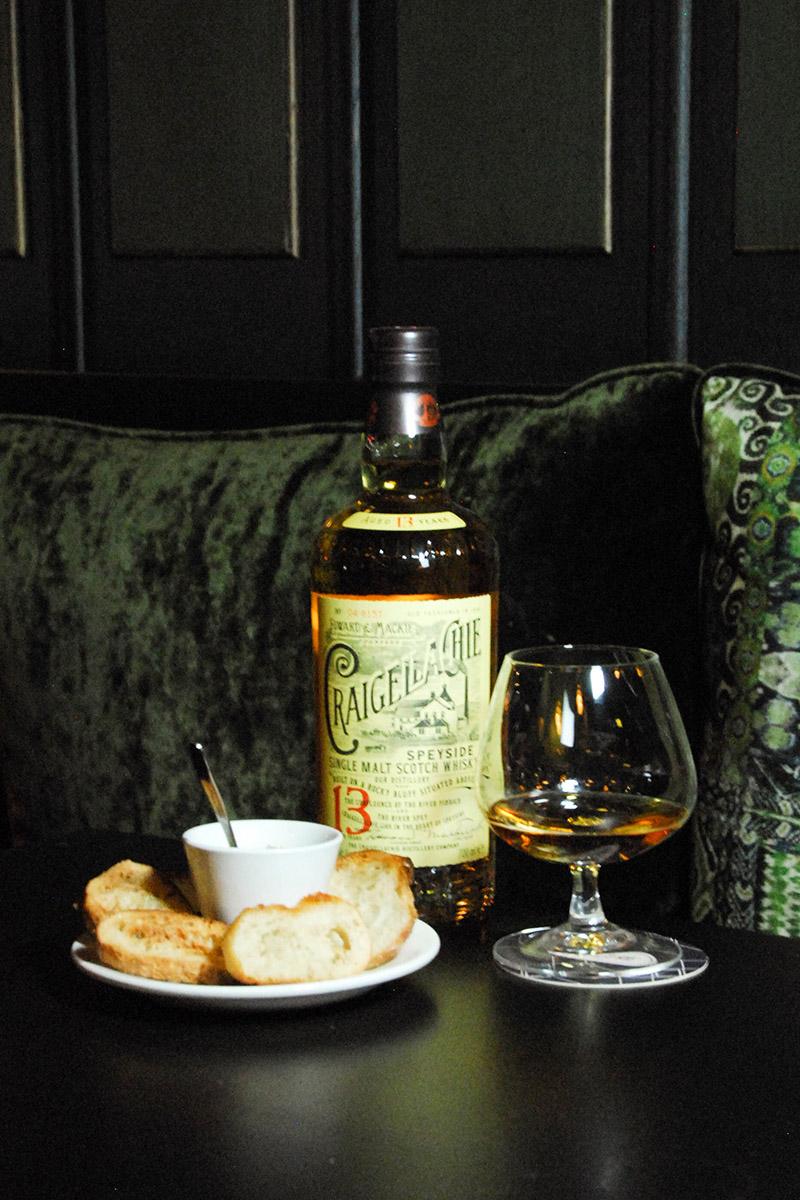 Whisky restaurant Demeure Monceau