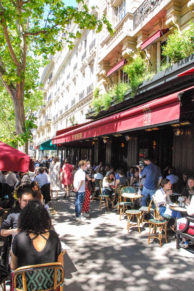 Terrasse Demeure Monceau Paris 17