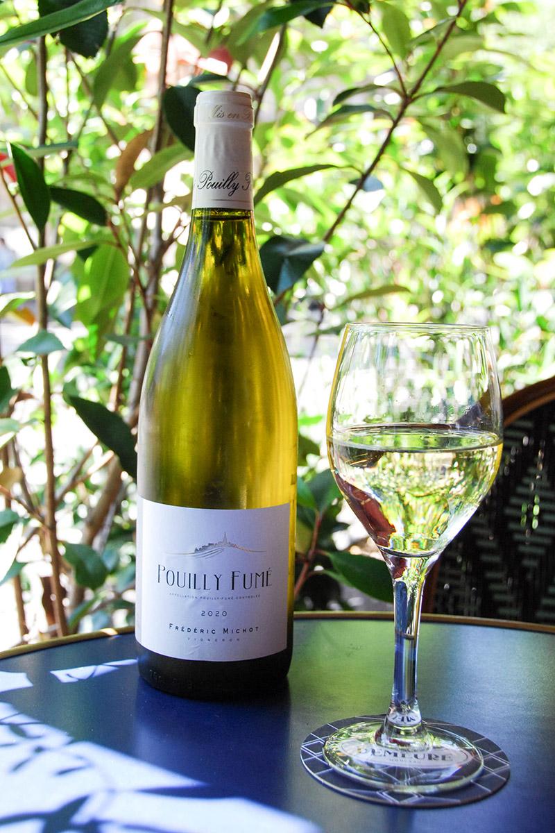 vins blancs Demeure Monceau Paris